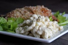 Easy Creamy Macaroni Salad from Better Bakery Company ~ Doughmesstic