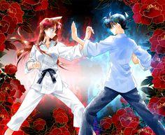 Jimmy and Rachel Karate