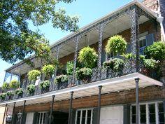 Balcony, N'awlins