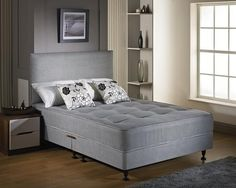 "2ft 6"" Contract Small Single Divan Bed"