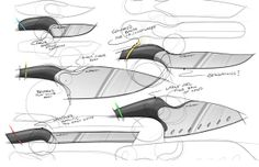 Brand Extension: CRKT Culinary Knives on Behance