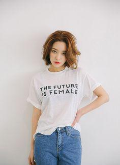 FEMALE Print T-Shirt | STYLENANDA