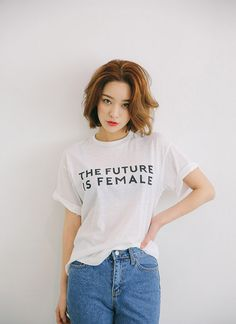 FEMALE Print T-Shirt | STYLENANDA