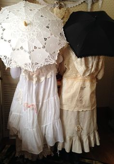 Gypsy Antique Lace Dresses http://www.victoriantailor.com/vt-wp/