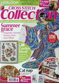 Gallery.ru / Cross stitch Collection has all the pages of the magazine available