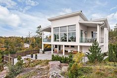 Modern house in Finland