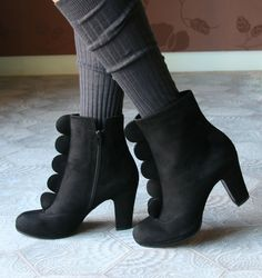 CREATE BLACK :: BOOTS :: CHIE MIHARA SHOP ONLINE
