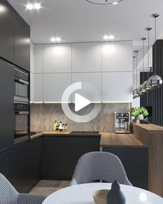 21 Modern Kitchen Area Suggestions Every Residence Cook Requirements to See Kitchen Room Design, Modern Kitchen Design, Living Room Kitchen, Kitchen Layout, Home Decor Kitchen, Interior Design Kitchen, Home Kitchens, Kitchen Ideas, Kitchen Inspiration