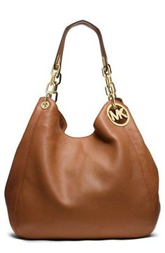 945cada4ffc7 MICHAEL Michael Kors  Large Fulton  Leather Tote available at  Nordstrom  Michael Kors Tote