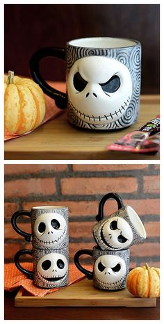 Skull Faced Mug Cup Specially designed for your 2015 Halloween. Add it into your Halloween wishlist now!