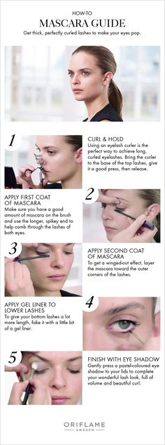 In this exclusive Oriflame how-to, we guide you on necessary steps to creating those thick, perfectly curled eyelashes.