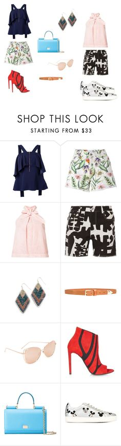 """Let's Rock..**"" by yagna ❤ liked on Polyvore featuring Ginger & Smart, Ermanno Scervino, Ulla Johnson, Isabel Marant, NAKAMOL, Linea Pelle, Linda Farrow, Balenciaga, Dolce&Gabbana and MOA Master of Arts"