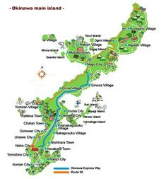 Top 10 Attractions on Okinawa Main Island ( + Okinawa Main island map)