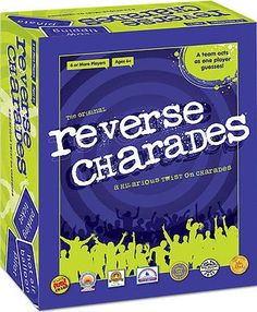 awesome Party games Reverse Charades - For Sale Check more at http://shipperscentral.com/wp/product/party-games-reverse-charades-for-sale/