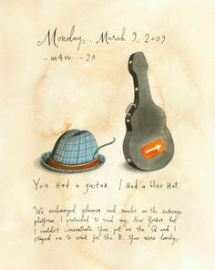 Missed Connections: You Had A Guitar.  I Had A Blue Hat.