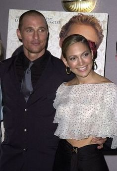 Jennifer Lopez And Matthew McConaughey At Event Of The Wedding Planner 2001