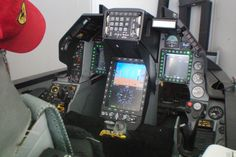 CPD in F-16 Simulator installed and 100% functional.