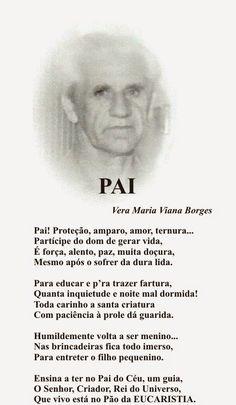 """Vera Maria Viana Borges: PAI  (Do Livro """"TRILHAS POÉTICAS"""" de Vera Maria Vi..."""