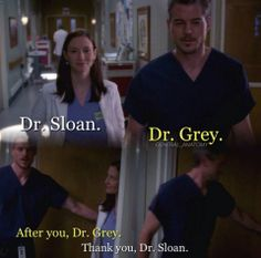 Grey's Anatomy - Lexie and Mark. I remember this..haha