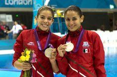 Paola Espinosa y Alejandra Orozco ganan segunda medalla para México ...YAY
