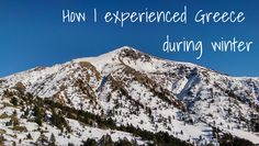 After 15 years in Amsterdam, I wanted to see something else. Being a nomad and roaming around Europe from mountain to sea, I discovered what gives me joy. Sell My House, Mount Everest, Greece, Europe, Mountains, Pictures, Travel, Winter, Blog