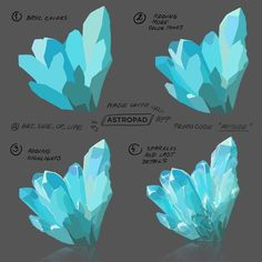 EtheringtonBrothers on - Digital painting - Art Digital Art Tutorial, Digital Painting Tutorials, Art Tutorials, Concept Art Tutorial, Drawing Tutorials, Drawing Techniques, Drawing Tips, Ice Drawing, Art Sketches