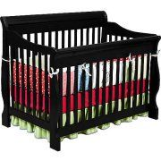 Reviews Delta Children Canton 4-in-1 Convertible Crib Black at Walmart.  sc 1 st  Pinterest & Crib tent such a good invention just saw a video and prevents ...