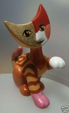 "ROSINA WACHTMEISTER  ""LEA"" CAT FIG. 196017  MINT IN GIFT BOX #ROSINAWACHTMEISTER #FIGURINE"