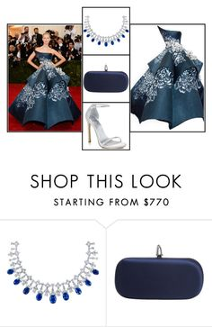 """""""Outfit # 2295"""" by voltinimiriam ❤ liked on Polyvore featuring Marchesa, Stuart Weitzman, GALA, women's clothing, women, female, woman, misses and juniors"""
