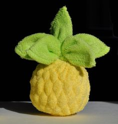 origami con toallas toallitas creativas figuras con toallas con regalo hecho en casa ocasiones toalla pineapple washagami