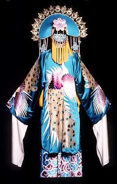 "One of Eiko Ishioka's costumes for the Broadway production of ""M. Butterfly"""