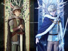El príncipe de Berk y el príncipe del invierno