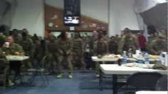 TF Corsair 82nd Combat Aviation Brigade U.S. Soldiers Doing a Flash Mob Dance in Afghanistan, via YouTube.