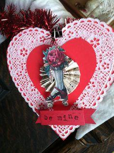 Pollyanna Reinvents: A Valentine Banner to Share