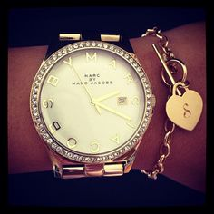 Love the watch and the bracelet together!