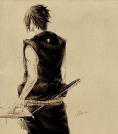 Uchiha Sasuke by Haru.