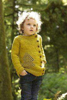 Old Growth cardigan knitting pattern by Tin Can Knits.  Pattern sizing from baby up to adult.