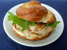 Upgrade your typical sandwich with a pretzel bun. Here's how to make them >>