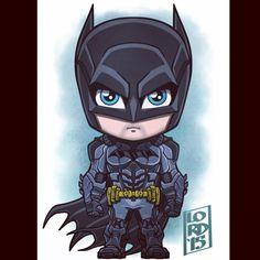 Chibi Batman by Lord Mesa Batman Chibi, Chibi Marvel, Marvel Dc Comics, Batman Cartoon, Batman Poster, Batman Artwork, Batman Arkham Knight, Batman The Dark Knight, Bd Cool