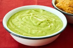 Salsa de Aguacate con Crema Make this mild taquería style creamy avocado salsa when you aren't in the mood for a big bold salsa but want something a little more subtle but still full flavored. The addition of heavy Mexican cream cuts the burn from the serrano chile but the salsa still has a pleasant tang from the tomatillos and lime juice. Plus, it's a very kid friendly salsa. It brings back good memories too. It reminds me of the salsa that they serve with the tostadas at La Siberia ...