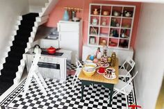 Kate Moross, Mable Cable and Tako, their Shiba Inu, live in a concrete ex-council flat in Camden, north London, designed by Benson & Forsyth in the early 1970s