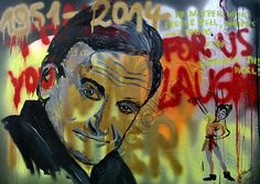 """""""No Matter"""" (2014) Mixes Media on canvas, 70 x 100 cm"""