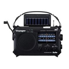 Kaito KA500 5-way Powered Emergency AM/FM/SW NOAA Weather Alert Radio