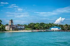 The view from Miller Ferry as you approach Middle Bass Island, Ohio Miller Boat Line | Middle Bass Island Attractions #lakeerie