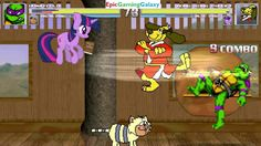 Annoying Orange & Donatello VS Hong Kong Phooey & Twilight Sparkle In A MUGEN Match / Battle / Fight This video showcases Gameplay of Twilight Sparkle From The My Little Pony Friendship Is Magic Series And Hong Kong Phooey The Superhero VS Donatello From The Teenage Mutant Ninja Turtles Series And The Annoying Orange In A MUGEN Match / Battle / Fight
