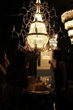 Theatre Chandelier   #lightingdesign #moderndesign #luxurylighting lamp design, ambient lighting, luxury homes . See more at www.luxxu.net