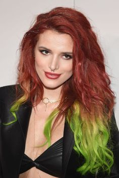 Bella Thorne at the 2016 American Music Awards.