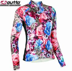 2013 New UTTO Women Ladies Female cycling bike bicycle Long sleeves jersey-in Sports Jerseys from Apparel & Accessories on Aliexpress.com