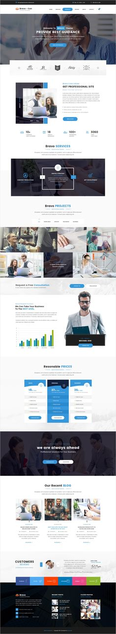Bravo is a multipurpose #PSD #template with awesome collection of 8 niches Business, #Consultancy, Restaurant, SEO, Construction, Architecture, SPA, Fashion Shop website with 66 organized PSD pages download now➩ https://themeforest.net/item/bravo-multipurpose-psd-template/17361644?ref=Datasata