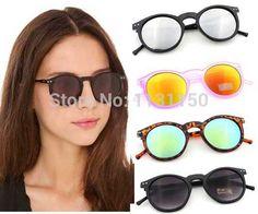 Encontrar Más Gafas de Sol Información acerca de Multicolor moda 2015  mercurio espejo gafas hombre gafas 56ef45224279